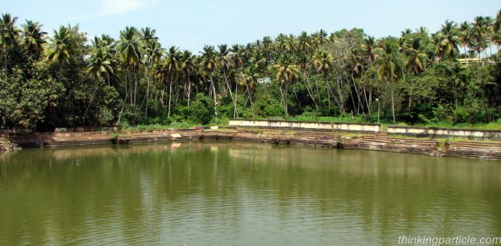 Janardhana Swami Temple Pond Varkala