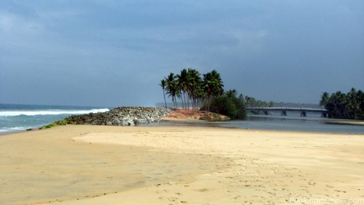 Kappil beach near Varkala