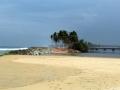 Kappil beach near Varkala